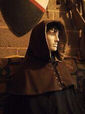 Medieval Hood - (wool) Re-enactment, LARP, Costume, Theatre