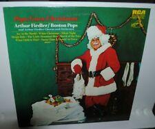 Arthur Fiedler, Boston Pops, Pops Goes Christmas, LP record, NRMT