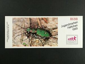 GERMANY BOOKLET 1993 MNH INSECTS BEETLE KÄFER SCARABÉE RARE!! h5541