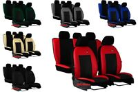 Tailored Eco-Leather Seat Covers for HONDA CIVIC X HTB  2017 - onwards  5 door