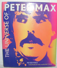The Universe of Peter Max by Peter Max (2013) HC.DJ. Signed Ed. Near Fine+