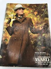 Vintage MONTGOMERY WARD Fall and Winter Catalog 1968