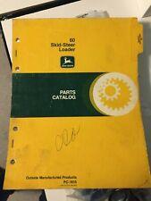 "John Deere JD 60 Skid-Steer Loader Parts Catalog Manual Book PC1615 ""Bobcat"""