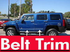 Hummer H3 suv CHROME BELT TRIM 2006 2007 2008