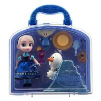 Disney Animators Collection Frozen Elsa Mini Doll Play Set 5 Inch  3+ Toy Anna