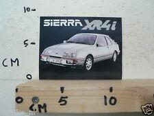 STICKER,DECAL FORD SIERRA XR4I CAR AUTO