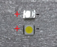 10x Led chip 3528 2835 1210 3V 1W smd tira led panel pantalla blanco frio