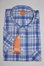 NUOVO HUGO BOSS Orange Camicia Taglia M (39/40) UVP 84,95 €
