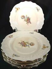"""Royal Copenhagen Denmark Frijsenborg Pattern Five Dessert Plates #1625 J 6 7/8"""""""