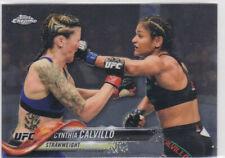 UFC MMA Cynthia Calvillo Rookie Card RC