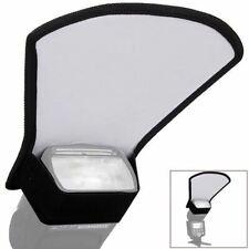 Universal Camera Flash Diffuser Softbox Silver/White Reflector for Canon Nikon P