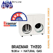 BRAEMAR TQ320 - DUCTED GAS HEATER - 18KW NATURAL GAS - INTERNAL OR EXTERNAL KIT