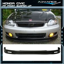For 99-00 Honda Civic JDM Mugen Front Bumper Lip Spoiler PP Bodykit