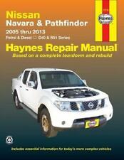 Nissan Navara & Pathfinder Automotive Repair Manual by Geoff Wilson, John H H...