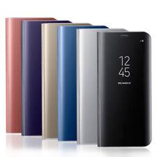 FLIP SMART CASE Clear View Mirror Stand copertura per Samsung Galaxy J5 2017 J530F