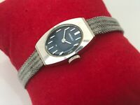 Seiko Vintage Watch Hand Winding Ladies Wrist Watch Silver Tone Analog