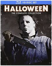 Halloween The Complete Collection 10 Disc Set Blu Ray Fast Post