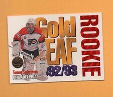 1993-94 Leaf Insert GOLD ROOKIES # 12 Tommy Soderstrom FLYERS GOALIE