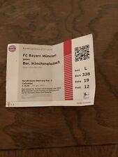 Sammlerticket FC Bayern München - Borussia Mönchengladbach (1. Bundesliga)