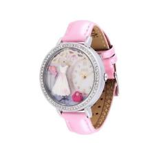 Orologio MINI WATCH 3D ref. MN1039B Donna cassa acciaio con strass pelle rosa