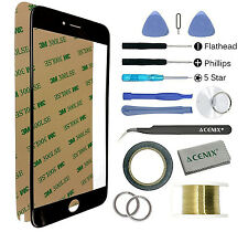 Front Outer Glass Screen Lens Replacement Repair Kit Tools for iPhone 6 Plus