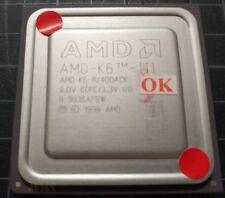 AMD K6-3/400ACK 400MHz 2.0v Vintage CPU Processor