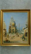 ORIENTALIST Painting - EGYPT - Oil on Canvas - EARLY 20TH CENTURY