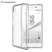 Ultra thin Crystal TPU Silicone Soft Back Case Cover For Sony Xperia Model