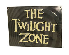 Sign Twilight Zone Embossed Metal 13 In. x 9 in. Tv Show Syfy Mystery 60s