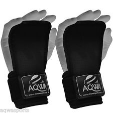 AQWA Weight Lifting Gym Straps Grips Wrist Palm Support Wraps Training Gloves