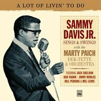 SAMMY DAVIS JR.  SINGS & SWINGS WITH THE MARTY PAICH DEK-TETTE & ORCHESTRA