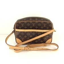AUTH Louis Vuitton Monogram Canvas leather Trocadero 27 Shoulder Bag