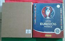 EURO 2016 GIFTBOX SWISS EDITION panini COFANETTO+Album hard cover +100 bustine