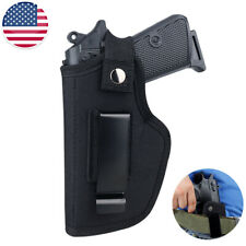 Pretina interior Universal Táctico fuera de banda de soporte de pistola arma Cinturón Oeste Concealed Carry Funda Pistola
