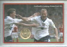 England Euro 96 Football Memorabilia Fan Commemorative £2 Coin UNC Gift Set 1996