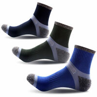 3 Pairs Unisex Mens Womens Sport Socks Quarter Cotton Ankle Socks Casual Socks