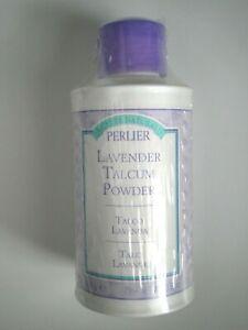 PERLIER Lavender Body Talcum Powder ~ 3.5 oz. / 100 g
