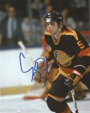 Vancouver Canucks Garth Butcher Signed Autographed 8x10 NHL Photo COA