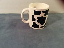 Waechtersbach Germany Cup/Mug,Black/White Cow Spots Made in Germany