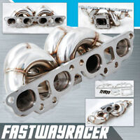 240SX S13 S14 S15 SR20 SR20DET T3 T3/T4 Top Mount Stainless Steel Turbo Manifold