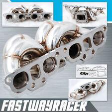 240SX S13 S14 S15 SR20 SR20DET T3 T3/T4 Top Mount Stainless Steel Turbo Manifold