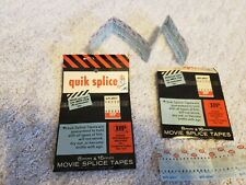 Hudson Quik Splice 8mm & 16mm Movie Film Splicing Tape 36 new in package + 20