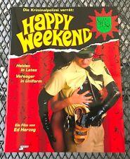 Kino # Original Presse-Information # Happy Weekend # Ed Herzog # 1996