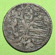 MAGMA Salzburg, Firmian, Halbkreuzer 1737, ss.,  Z.2611, Pr.2167