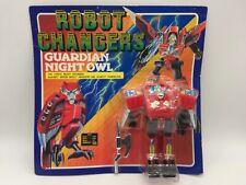 Vintage Robot Changers Guardian Night Owl Transformer Beast Toy MOC 1980's Japan