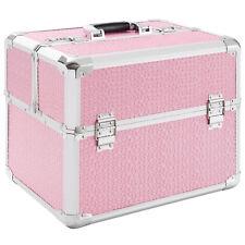 Multikoffer Beauty Case Werkzeugkoffer Kosmetikkoffer Schminkkoffer Koffer Pink