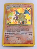 Pokemon💎Charizard Holo Rare💎1999 - Base Set - #4/102 🌟WOTC🌟