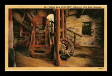 INTERIOR VIEW OF OLD MILL AT LAKEWOOD IN LITTLE ROCK ARKANSAS US LINEN POSTCARD