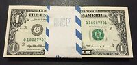 STAR NOTE $1 Dollar Bill , Crisp, consecutive,uncirculated *GEM*