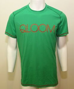 QLOOM ZEIL short sleeves round neck Training apparel M's Green